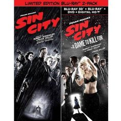 Sin City (Blu-ray) / Sin City: A Dame To Kill For (Limited Edition) (3D Blu-ray + Blu-ray + DVD + Digital Copy)
