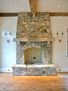 5 Smooth Cool Tricks: Shiplap Fireplace Living Rooms old fireplace hearth.Stone Fireplace With Wood Storage electric log burner fireplace. Stone Fireplace Decor, Wooden Fireplace, Fireplace Doors, Farmhouse Fireplace, Faux Fireplace, Fireplace Surrounds, Fireplace Design, Fireplace Mantels, Fireplace Ideas