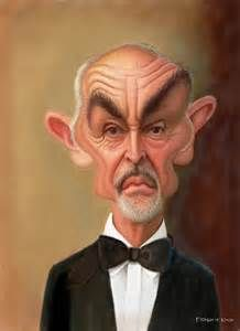 Sean Connery - CARICATURE: http://dunway.com/