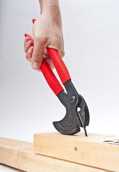 Crescent NP11 11-Inch Nail Pulling Pliers, Red/Black - Amazon.com. I want a pair of these!