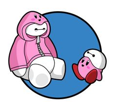 Baymax and Kirby... Why not?