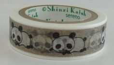 Hey, I found this really awesome Etsy listing at https://www.etsy.com/listing/197376936/panda-washi-tape-masking-deco-tape-paper