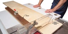 Get more out of your table saw with these four handy jigs. These simple jigs take advantage of the table saw's speed and accuracy without tempting you to perform risky operations.