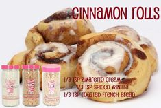 Cinnamon Rolls Order at  - Make your own - Mix your scent  - Fragrance Diffusers  -Soaps - Lotion  -Simmer Pots  -Recipe  #HomeDecor #EZPZ #Heatdon'teat