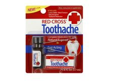 Red Cross Toothache Complete Medication Kit Instant Relief oz (Pack of Remedies For Tooth Ache, Hydrogen Peroxide Uses, Dry Socket, Tooth Pain, Clove Oil, Natural Teeth Whitening, Red Cross, Cavities, Dental Care