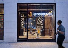 Conçue par l'agence d'architecture new-yorkaise HWKN, cette nouvelle boutique MenScience s'implante à Manhattan.