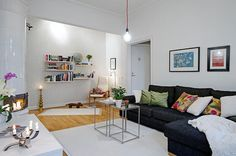 Scandinavian Apartment 181 Small Apartment Displaying Clever Design Solutions in Gothenburg