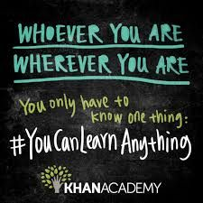 You Can Learn Anything video from Khan Academy--perfect for introducing growth mindset! Fixed Mindset, Growth Mindset, Kahn Academy, Massive Open Online Courses, Math Quotes, School Quotes, Funny Quotes, Visible Learning, Growth Quotes