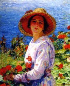 Portrait of the Artist's Wife (Joseph Kleitsch)