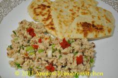 Chicken Kelaguen & Flour Titiyas