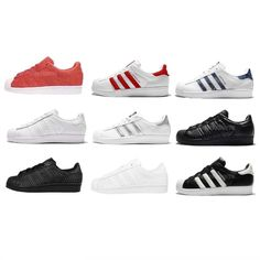 wholesale dealer 0c8a9 d8549 adidas Originals Superstar W Women Classic Casual Shoes Sneakers Trainers  Pick 1
