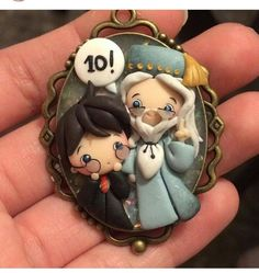 Fantasy creature, harry potter world, gift for potterhead, g Polymer Clay Disney, Polymer Clay Figures, Cute Polymer Clay, Cute Clay, Fimo Clay, Polymer Clay Projects, Polymer Clay Charms, Clay Crafts, Harry Potter Beasts