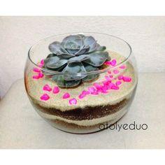 Echeveria aşkına  Bilgi ve spariş için  DM  #sukkulent #terrarium #design #handmade #happy #favor #babyshower #wedding #birthday #minyatür #cactus #love #addicts #newbaby #hediyelik #echeveria #love #pink #land #landscape #peyzaj #instagood #like #likes #architecture #art #me #istanbul #turkey #likesforlikes #instagood #goodtimes #happy by atolyeduo
