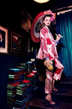 "Milan Van Eeten in ""An Exotic Sense Of Destiny"" / Photography by Ellen von Unwerth / Styled by Alice Gentilucci, for Vogue Japan June 2016 Foto Fashion, Fashion Art, Fashion Models, High Fashion, Fashion Beauty, Womens Fashion, Ellen Von Unwerth, Vogue Japan, Magazine Mode"