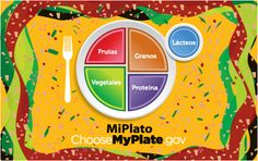 ¿Hablas español? Check out these #Spanish - language MiPlato resources. #MyPlate #MiPlato #nutrition #health #salud