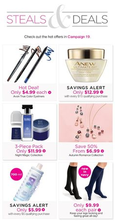 Makeup, Skincare, Fragrance, Fashion and much, much more! Avon True, Avon Representative, Broad Spectrum, True Colors, Bath And Body, Eyeliner, Fragrance, Canada, Skin Care