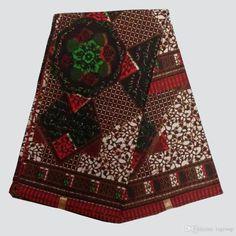NAR-59 New African Wax Print Fabric,Ankara Cotton Fabrics Batik Hollandais Wax…