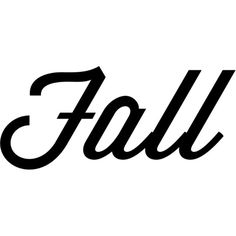 Fall text ❤ liked on Polyvore featuring words, text, quotes, filler, phrase and saying