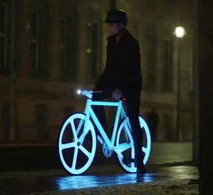 Me gustaandar en bicicleta
