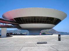 design-dautore.com / Architect Oscar Niemeyer  Museo di arte contemporanea Niterói