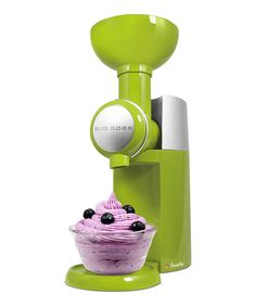 Green Swilio Frozen Dessert Maker