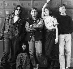 The Breakfast Club - Filme CLUBE DOS CINCO....