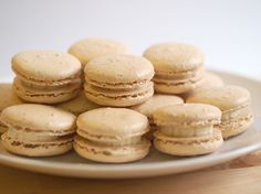 A Baked Creation: Peanut Macarons