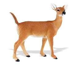 Wild Safari Wildlife: Whitetail Fawn at theBIGzoo.com, a toy store with over 12,000 products.