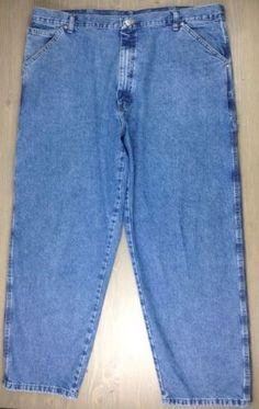 Men's Levi's 569 Loose Straight Fit Blue Jeans Pants Size 33 X 30 ...