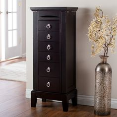 Have to have it. New England Jewelry Armoire - Espresso $239.98 hayneedle