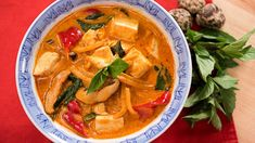 Vegan Red Curry แกงเผ็ดมังสวิรัติ