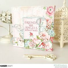 Rose Avenue Canvas ~ Video included with Kylie. - Kaisercraft Official Blog