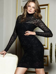 NEW! Lace Open-back Dress #VictoriasSecret http://www.victoriassecret.com/clothing/whats-new/lace-open-back-dress?ProductID=82338=OLS?cm_mmc=pinterest-_-product-_-x-_-x