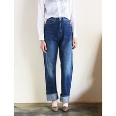 LVC (Levi's Vintage Clothing) - 1950's 701Jeans / Vintage Washed - リーバイス・ヴィンテージクロージング(レディース)