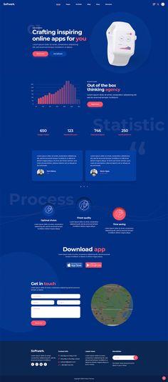 Showcase your tech projects with style using Softwerk WordPress theme.  #wordpress #theme #layout #template #design #webdesign #software #technology #startup #landingpage #saas #digital #mobileapp #cryptocurrency #bitcoin #digitalstudio #techcompany
