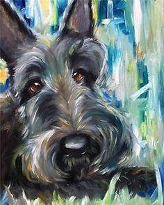 Scottie painting