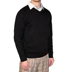 Golf Knickers: Men's Solid Sweater.  Buy it @ ReadyGolf.com