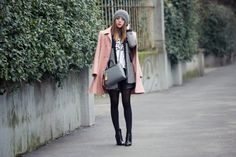 FENDI 2JOUR & CAPPOTTO ROSA CIPRIA - OUTFIT OF THE DAY
