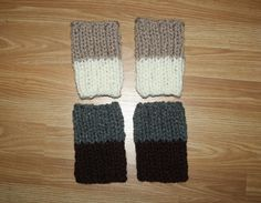 Reversible 2 in 1 Double Chunky Knit Boot Sock Cuffs - Choose Your Colors - Toppers Leather Riding Boots Socks Sweater on Etsy, $25.00