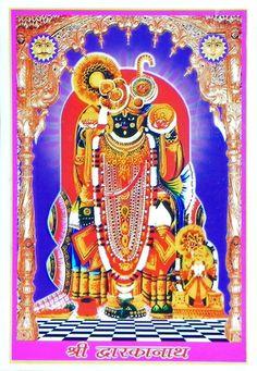 Sri Dwarkanath - Reprint on Paper - Encased in Acrylic picclick.com