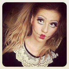 Creepy doll costume! | Halloween | Pinterest | Creepy doll costume ...