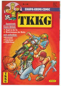 Germany: TKKG #1/88 (#3 overall) VG/F, 1987, $11