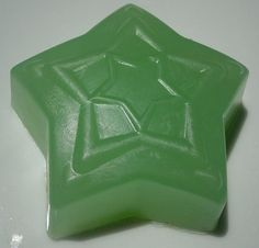 Pear Star Soap, Green Soap, Pear Soap by HoookedSoap on Etsy, $2.50