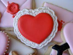 .Oh Sugar Events: Valentine Cookies 2012
