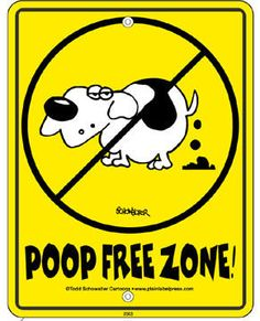 dog poop scoop signs | ... signs - fake fire hydrants - pooper scooper tools - no dog poop signs