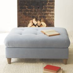 MOONSHINE FOOTSTOOL Footloose and fancy free, this puppy goes brilliantly with our Monty sofas and armchairs.