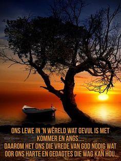 Goeie Nag, Afrikaans Quotes, Milky Way, Good Night, Moonlight, Sunrise, Bible, Community, Nature