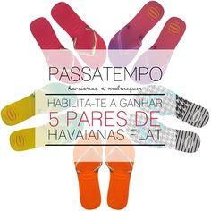 Amostras e Passatempos: Malmequer - Passatempo Havaianas Flat