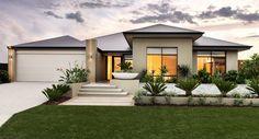 Trendy ideas for house front windows exterior colors Backyard Garden Landscape, Modern Backyard, Garden Grass, Big Garden, Garden Pond, Balcony Garden, Garden Landscaping, Exterior Colors, Exterior Design