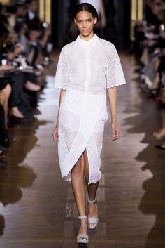@Stella_McCartney #catwalk #trends #cape_sleeves #PFW #Paris #SS_2013 #in